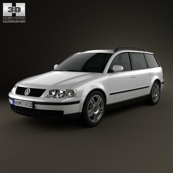 Volkswagen Passat (B5) variant 1997 - 3DOcean Item for Sale