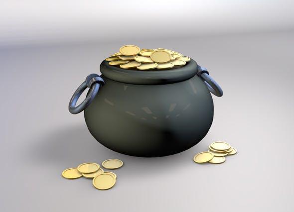 Pot O'Gold - 3DOcean Item for Sale
