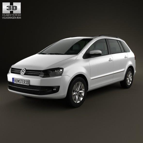 Volkswagen SpaceFox (Suran) 2012