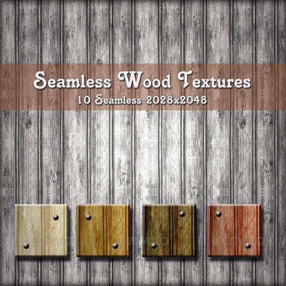 Wood Textures - Set 02 - 3DOcean Item for Sale