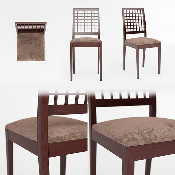 3d model of Chair - 3DOcean Item for Sale