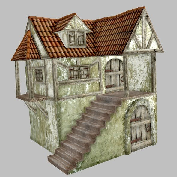 Medieval House - 3DOcean Item for Sale