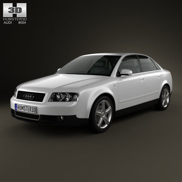Audi A4 (B6) sedan 2002 - 3DOcean Item for Sale