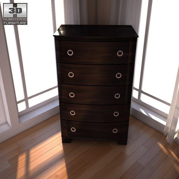 Ashley Pinella Chest - 3DOcean Item for Sale