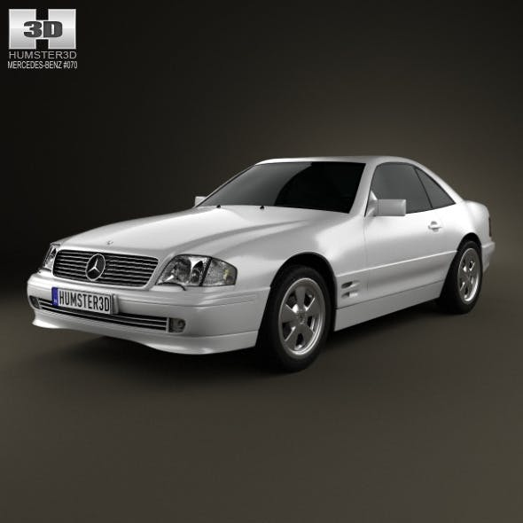 Mercedes-Benz SL-class (R129) 2002 - 3DOcean Item for Sale