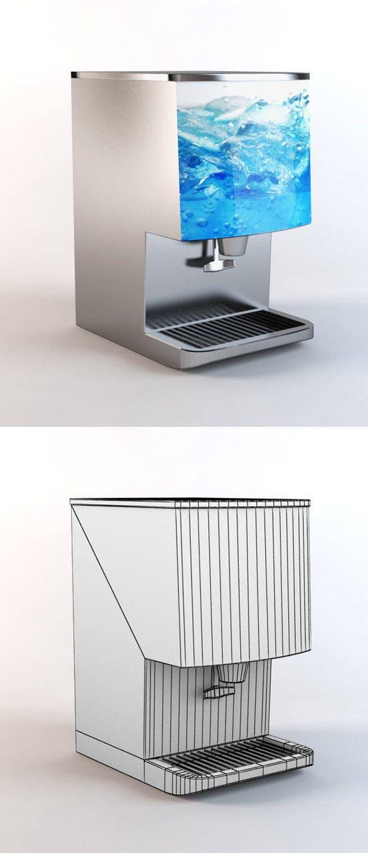 Ice Dispenser - 3DOcean Item for Sale