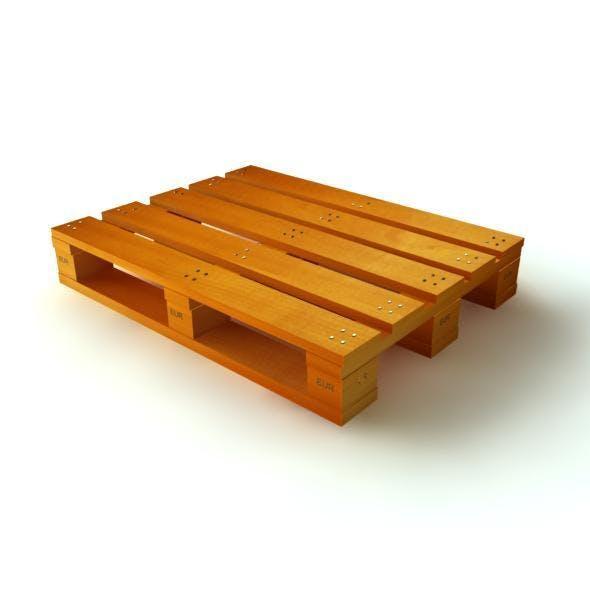 3D Model Wood Pallet - 3DOcean Item for Sale