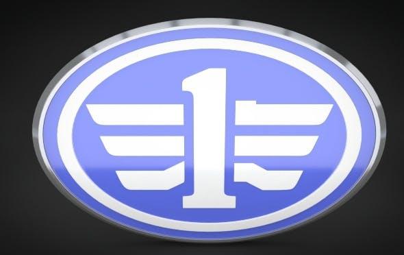 FAW Logo - 3DOcean Item for Sale