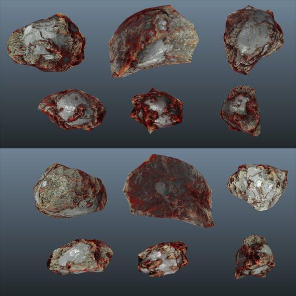 Low Poly - Rocks / Asteroids