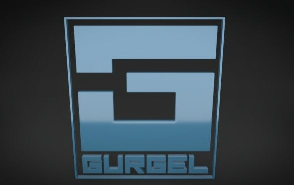 Gurgel Logo - 3DOcean Item for Sale
