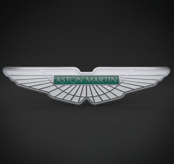 Aston Martin Logo - 3DOcean Item for Sale