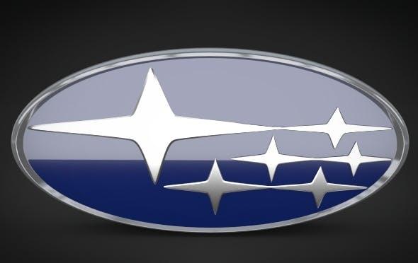 Subaru Logo - 3DOcean Item for Sale