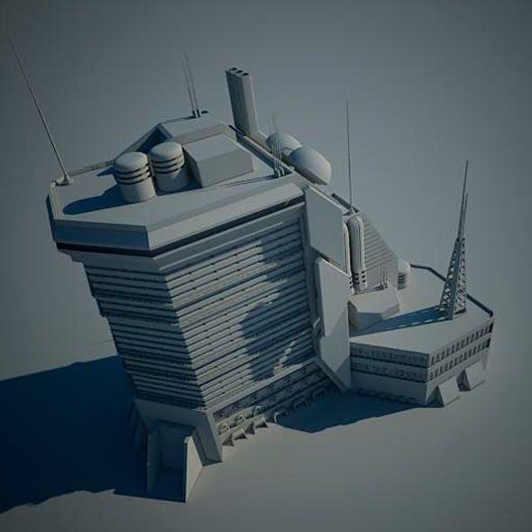 Sci Fi Building 15