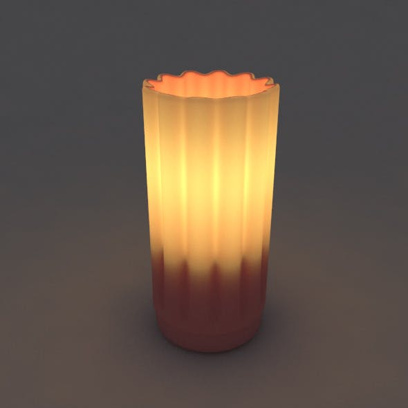 Table light - Restaurant Candle