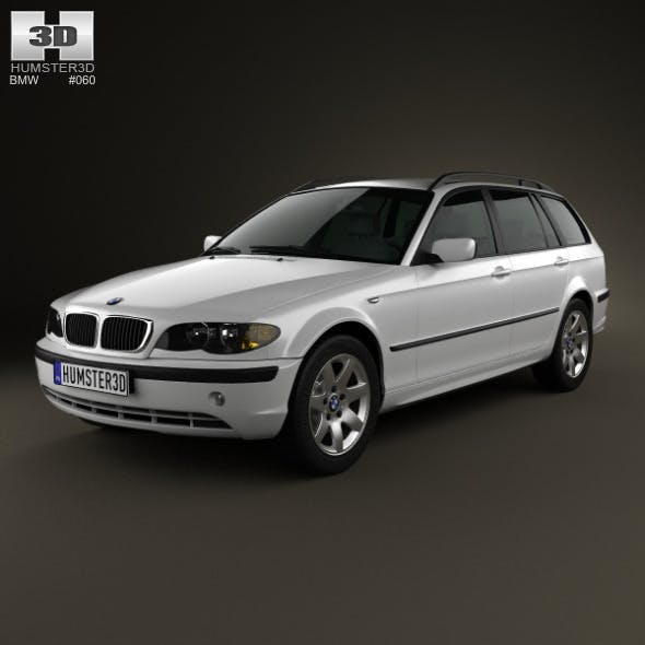 BMW 3 Series touring (E46) 2001 - 3DOcean Item for Sale