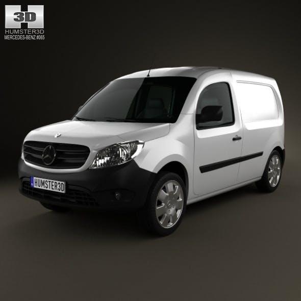 Mercedes-Benz Citan Panel Van 2012 - 3DOcean Item for Sale