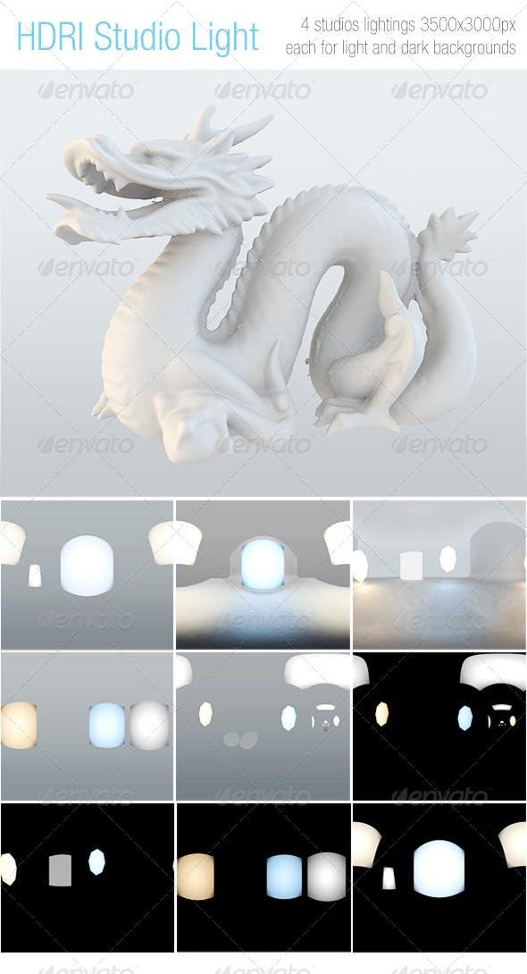 HDRI Studio Light - 3DOcean Item for Sale