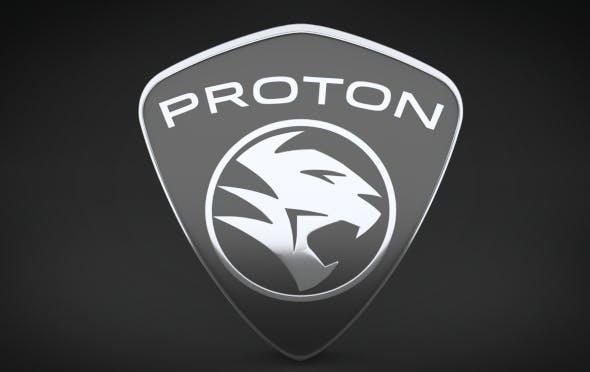 Proton Logo - 3DOcean Item for Sale