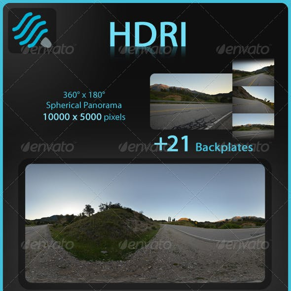 HDRI: Mountain Route 2