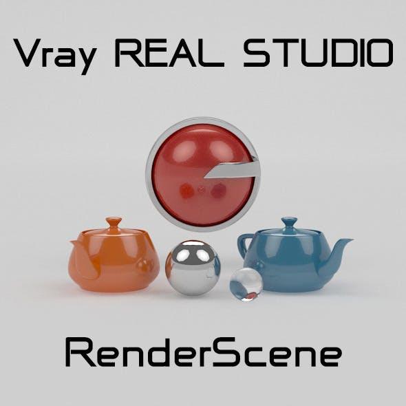 Vray REAL STUDIO Photography