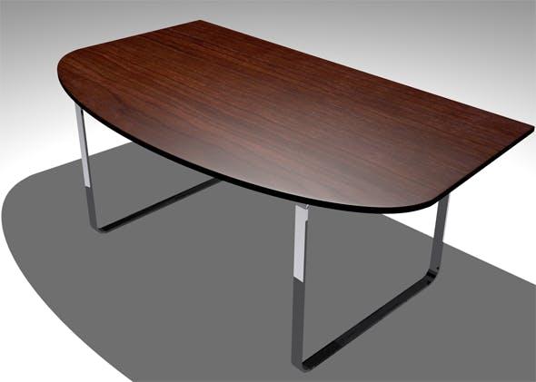 Simple Office Desk - 3DOcean Item for Sale