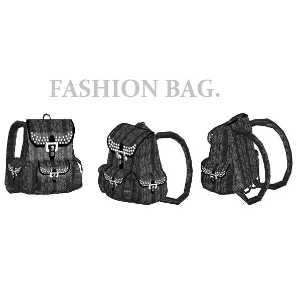 Fashion Bag - 3DOcean Item for Sale