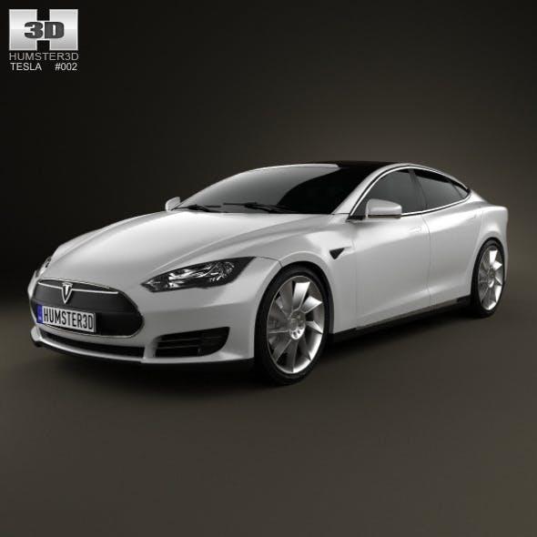 Tesla Model S 2012 - 3DOcean Item for Sale