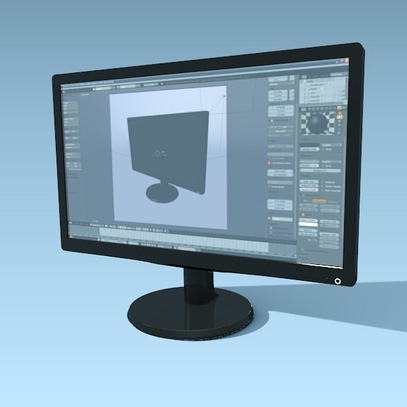 Philips 236v hd monitor - 3DOcean Item for Sale