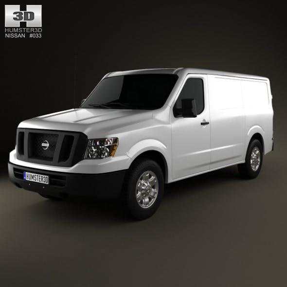Nissan NV Cargo Van Standard Roof 2013
