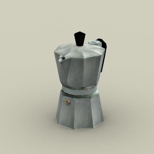 Moka Pot- Coffe Maker - 3DOcean Item for Sale
