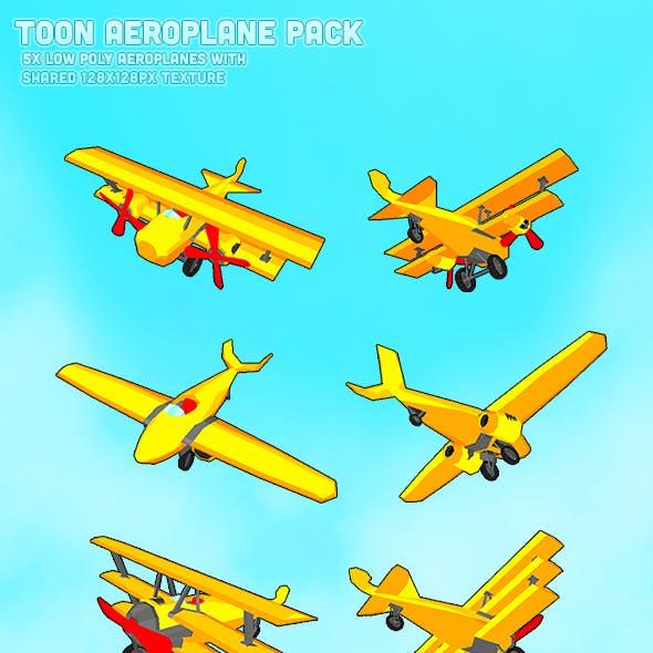 Toon Aeroplane Pack
