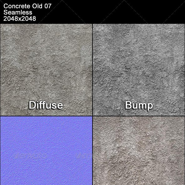 Concrete Old 07 Tileable