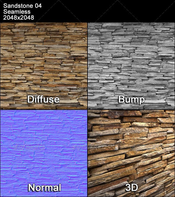 Sandstone 04 - 3DOcean Item for Sale