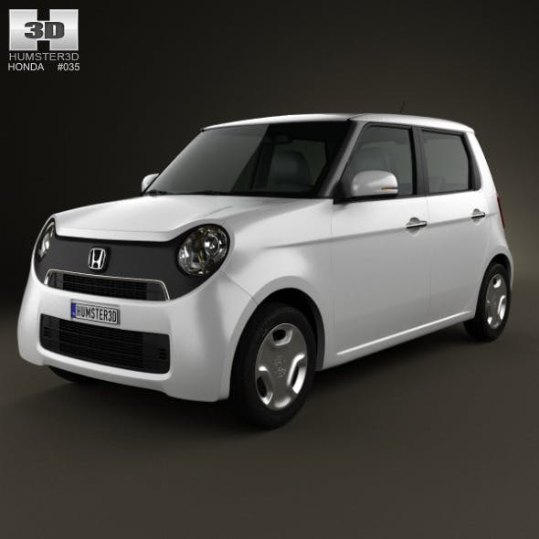Honda N-One 2013 - 3DOcean Item for Sale