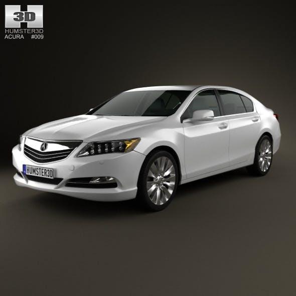 Acura RLX 2013 - 3DOcean Item for Sale