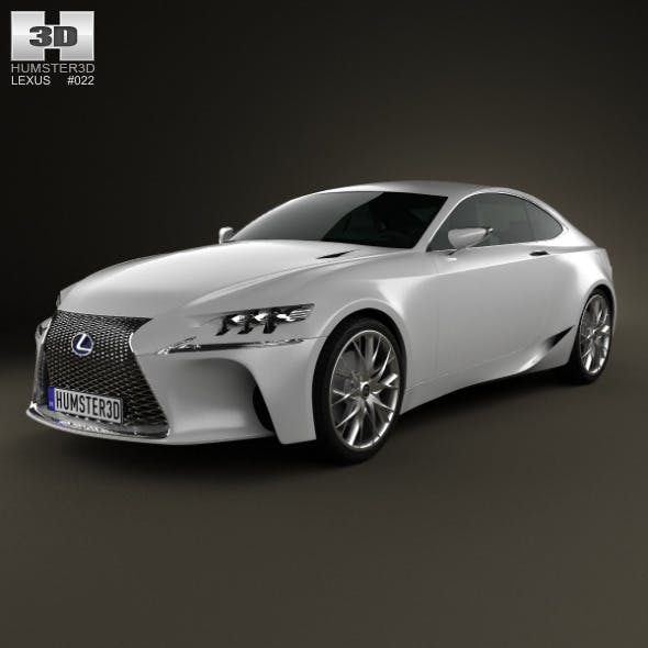 Lexus LF-CC 2012 - 3DOcean Item for Sale