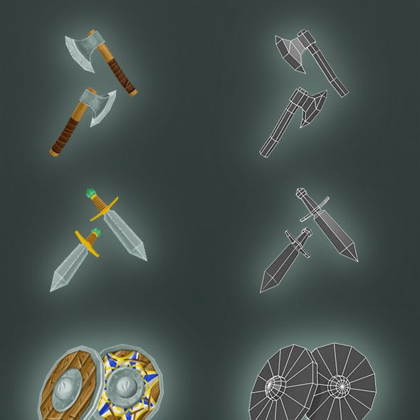 Low Poly Armor Pack