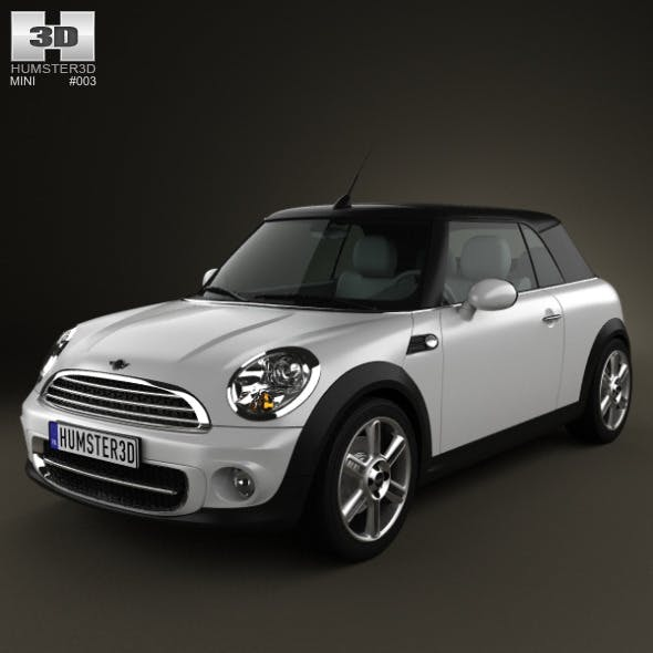 Mini Cooper convertible 2011 - 3DOcean Item for Sale