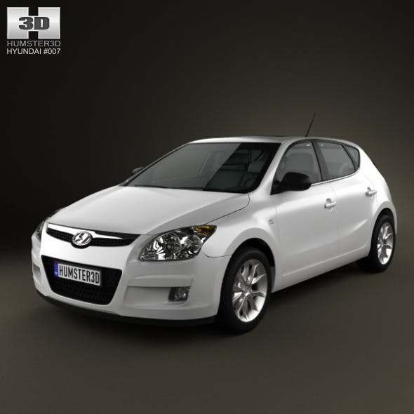 Hyundai i30 2010 - 3DOcean Item for Sale