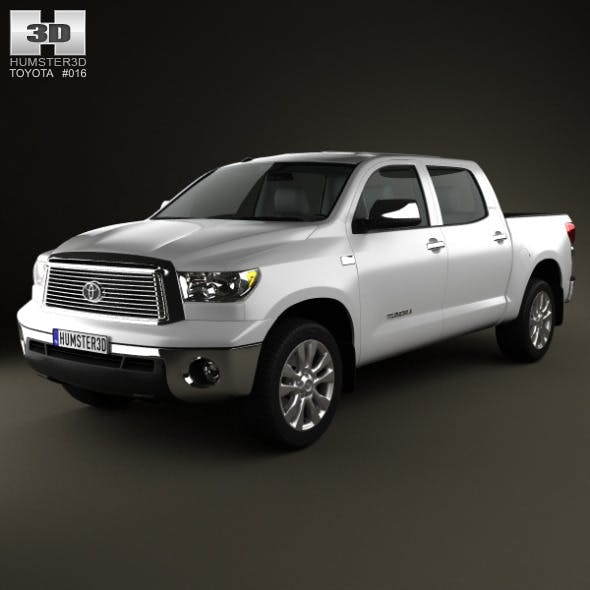 Toyota Tundra Crew Max 2011 - 3DOcean Item for Sale