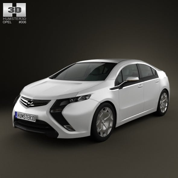 Opel Ampera 2011 - 3DOcean Item for Sale