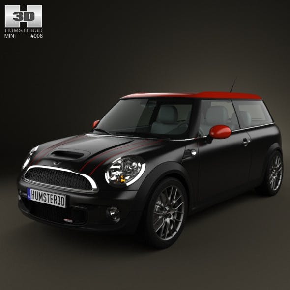 Mini John Cooper Works Clubman 2011 - 3DOcean Item for Sale