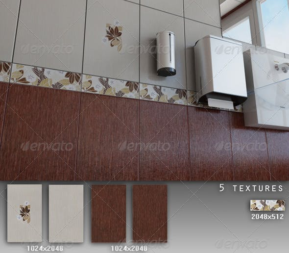 Professional Ceramic Tile Collection C013 - 3DOcean Item for Sale