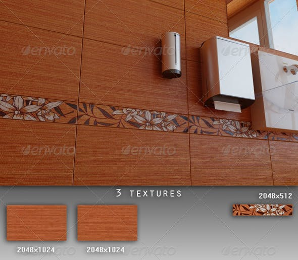 Professional Ceramic Tile Collection C009 - 3DOcean Item for Sale