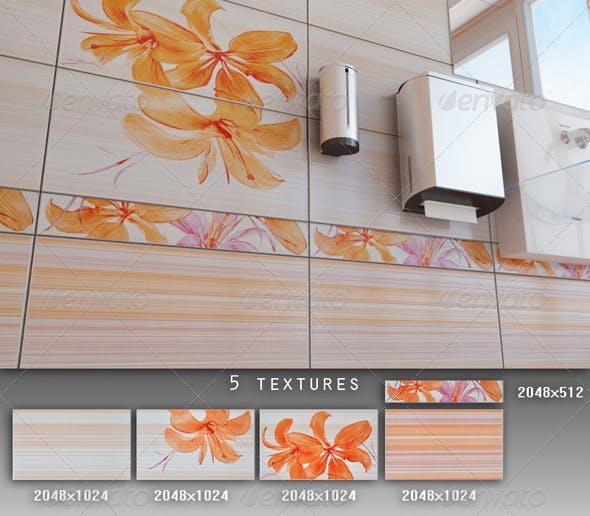 Professional Ceramic Tile Collection C008 - 3DOcean Item for Sale