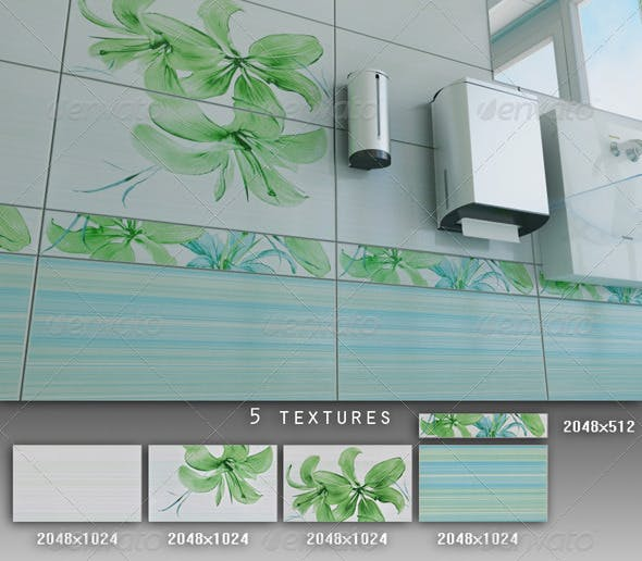 Professional Ceramic Tile Collection C006 - 3DOcean Item for Sale