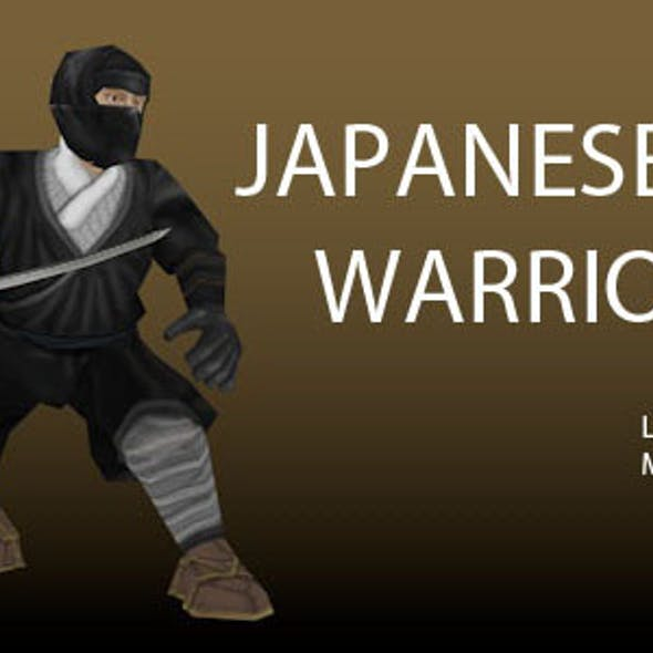 Japanese Warriors - Low poly models pack