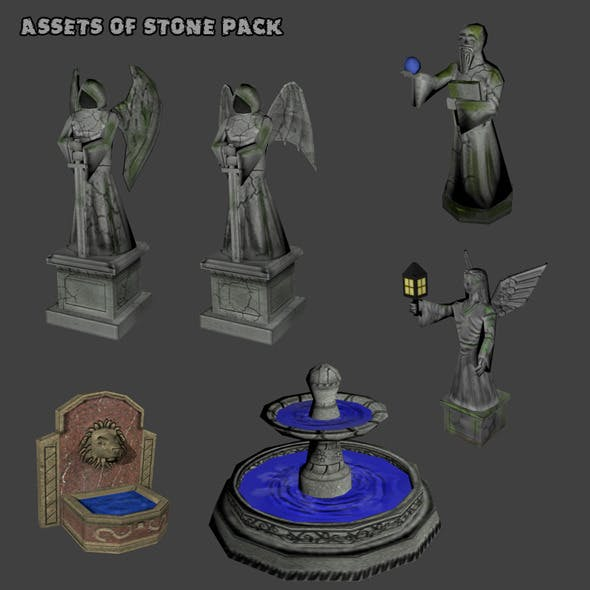 Assets of Stone Pack