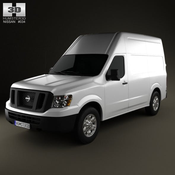 Nissan NV Cargo Van High Roof 2013 - 3DOcean Item for Sale