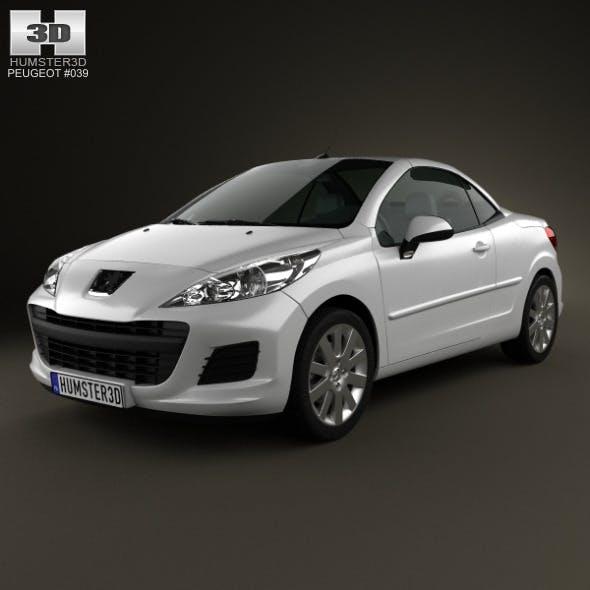 Peugeot 207 CC 2012 - 3DOcean Item for Sale